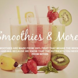 SIGNATURE SMOOTHIES