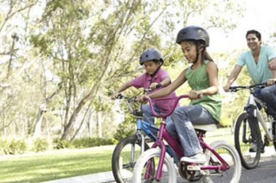 Smoothie Haven Lifestyle Meal Prep Service healthy family bike riding smoothie haven home of the lifestyle meal prep service picture of mother father son and daughter riding bikes