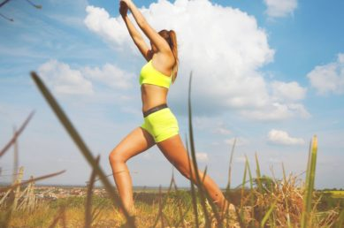 Smoothie Haven home of The Lifestyle meal service BLOG 7 Calorie Burning Tips women stretching doing yoga